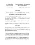 Quyết định số 3959/QĐ-UBND