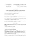 Quyết định số 6174/QĐ-UBND