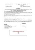 Thông tư số 60/2011/TT-BGTVT