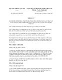 Thông tư số  63/2011/TT-BGTVT