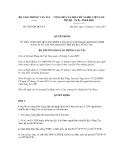 Quyết định số 2947/QĐ-BGTVT