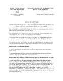 Thông tư liên tịch số 191/2011/TTLT/BTCBVHTTDL