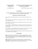 Quyết định số 3880/QĐ-UBND