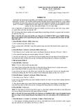 Thông tư số 47/2011/TT-BYT