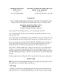 Nghị quyết số 12/2011/NQ-HĐND