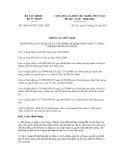 Thông tư liên tịch số 184/2011/TTLT-BTC-BTP