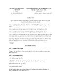 Thông tư số 39/2011/TT-NHNN
