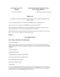 Thông tư số 42/2011/TT-NHNN