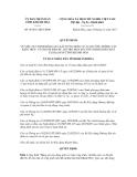 Quyết định số 46/2011/QĐ-UBND