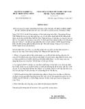 Thông báo số 6758/TB-BNN-VP