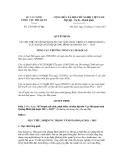 Quyết định số 2756/QĐ-TCHQ