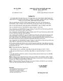 Thông tư số 190/2011/TT-BTC