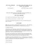 Quyết định số 2471/QĐ-TTg