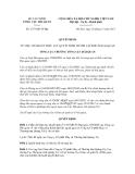 Quyết định số 2735/QĐ-TCHQ