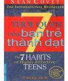 Ebook 7 thói quen của bạn trẻ thành đạt (7 habits of the highly effective teens) - Sean Covey
