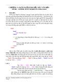 Chương 3: Ngôn ngữ đánh dấu siêu văn bản HTML