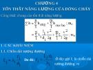 Bài giảng các quá trình cơ học - Chương 4: Tổn thất năng lượng của dòng chảy