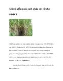 Một số giống mía mới nhập nội tốt cho ĐBSCL