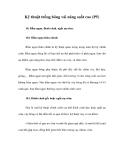 Kỹ thuật trồng bông vải năng suất cao (P5)