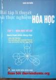 Bài tập lý thuyết và thực nghiệm môn Hóa học