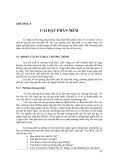 Chương 5: Cài đặt phần mềm