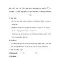 BÀI 1: ÔN TẬP VỀ CĂN BẬC HAI – HẰNG ĐẲNG THỨC