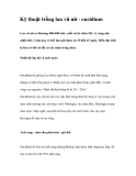 Kỹ thuật trồng lan vũ nữ - oncidium