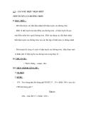 § 5 : CÁC DẤU HIỆU NHẬN BIẾT TIẾP TUYẾN CỦA ĐƯỜNG TRÒN