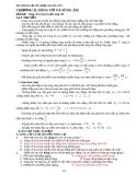 Chương II: Sóng cơ và sóng âm