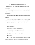 CÁC PHƯƠNG PHÁP GIẢI TOÁN CÓ LỜI VĂN (PHƯƠNG PHÁP RÚT VỀ ĐƠN VỊ VÀ PHƯƠNG PHÁP TỈ SỐ)