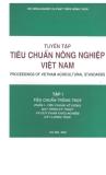 Tuyển tập tiêu chuẩn nông nghiệp Việt Nam tập 1 quyển 1 part 1