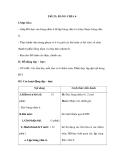 Tiết 23: BẢNG CHIA 6