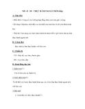 Tiết 43 Đ9 THỰC HÀNH NGOÀI TRỜI (tiếp)