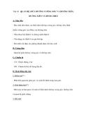 Tiết 49 QUAN HỆ GIỮA ĐƯỜNG VUÔNG GÓC VÀ ĐƯỜNG XIÊN, ĐƯỜNG XIÊN VÀ HÌNH CHIẾU