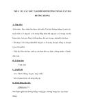Tiết 5: Đ3. CÁC GÓC TẠO BỞI MỘT ĐƯỜNG THẲNG CẮT HAI ĐƯỜNG THẲNG