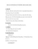 Tiết 8: Đ5. TIÊN ĐỀ ƠCLIT VỀ ĐƯỜNG THẲNG SONG SONG