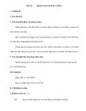 Tiết 32: KHẢO SÁT HÀM ĐA THỨC
