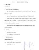 Tiết 34 KHẢO SÁT HÀM SỐ (Tiếp)