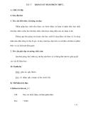 Tiết 37 KHẢO SÁT HÀM PHÂN THỨC