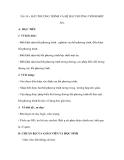 Tiết 34 : BẤT PHƯƠNG TRÌNH VÀ HỆ BẤT PHƯƠNG TRÌNH MỘT ẨN