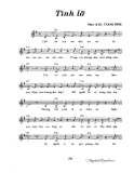 Bản nhạc Tình lỡ - Thanh Bình