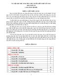 Tài liệu dạy học sinh lớp 9 đạt chuẩn kiến thức kỹ năng môn Ngữ Văn