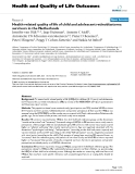 """báo cáo hóa học:"""" Health-related quality of life of child and adolescent retinoblastoma survivors in the Netherlands"""""""