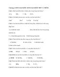 Chương 6. KIM LOẠI KIỀM- KIM LOẠI KIỀM THỔ VÀ NHÔM