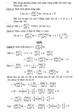 Một số bài tập toán