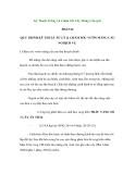Kỹ Thuật Trồng Và Chăm Sóc Cây Mãng Cầu (p2)