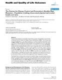 Health and Quality of Life Outcomes BioMed Central  Review  Open Access  The Centers for Disease