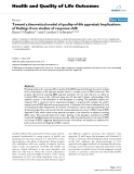 Health and Quality of Life Outcomes BioMed Central  Review  Open Access  Toward a theoretical model