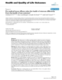 Health and Quality of Life Outcomes BioMed Central  Research  Open Access  Do medical house officers