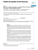 Health and Quality of Life Outcomes BioMed Central  Research  Open Access  Effects of a self-care